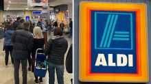 'This is mental': Aldi Special Buy photo sparks social distancing outrage