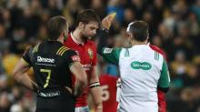 Iain Henderson frustrated by 'stupid' yellow card as Lions held by Hurricanes