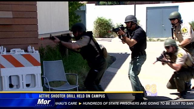 Active shooter drill held on campus