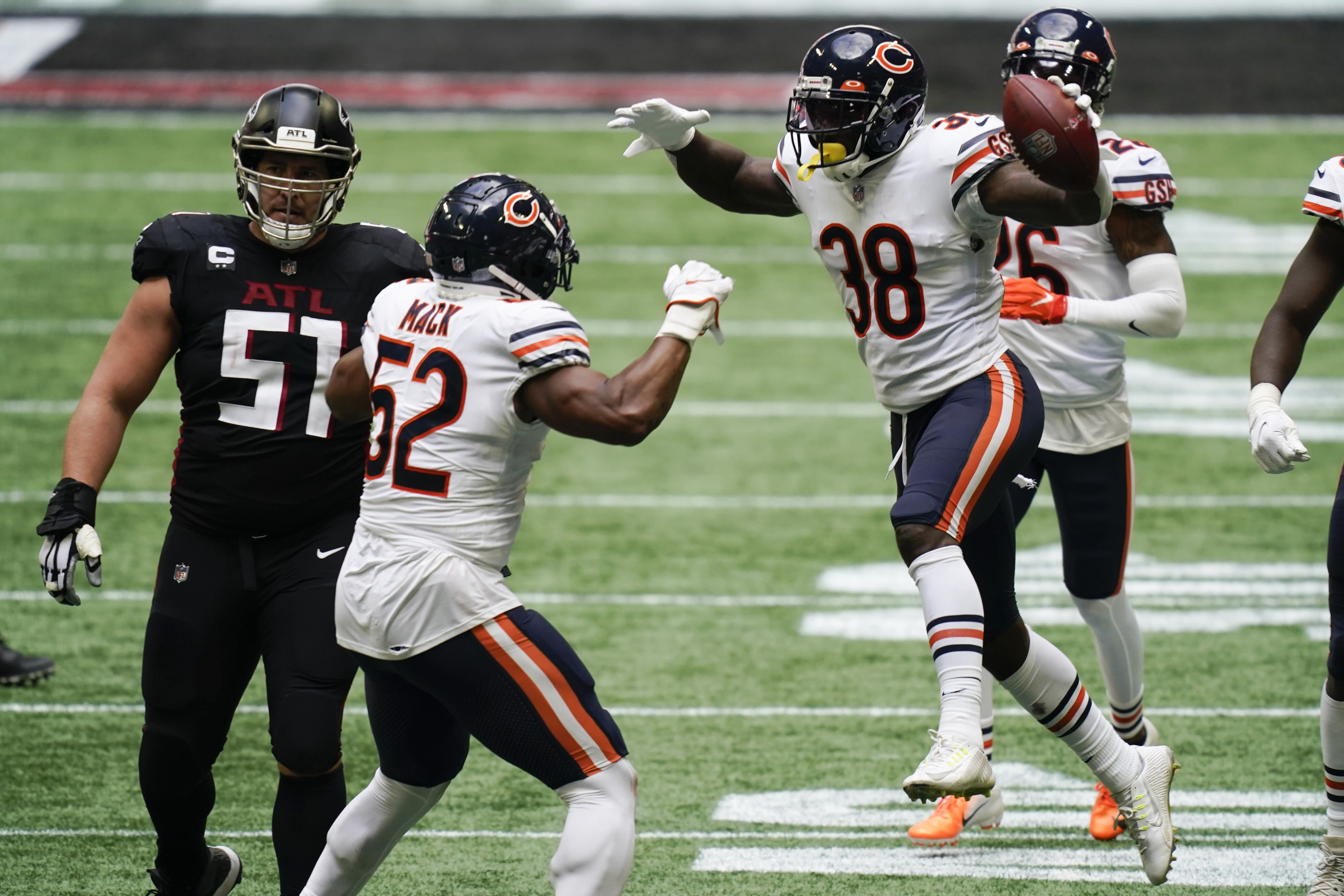 Nfl Falcons Blow Another 4th Quarter Lead In Loss To Bears