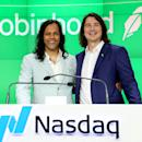Robinhood shares close 8% lower in first day of trading