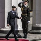 Former Comedian Volodymyr Zelenskiy Sworn In As President Of Ukraine