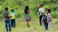 Children of Colombia's peace growing up among landmines