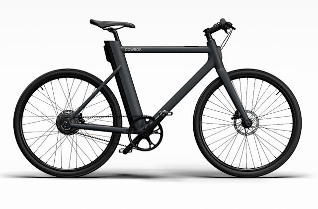 Cowboy upgrades its e-bike with a carbon belt and puncture-resistant tires