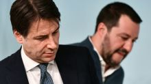 Italy PM says to resign as crisis comes to a head