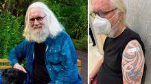 Sir Billy Connolly has had his coronavirus jab