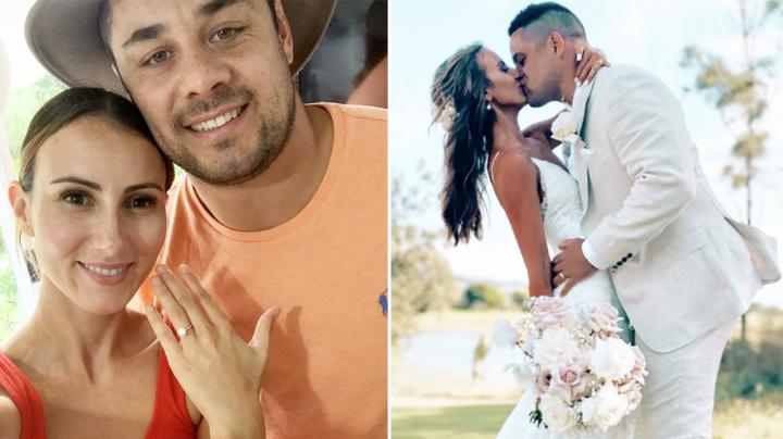 Jarryd Hayne hits out at 'unfortunate' detail amid wedding joy