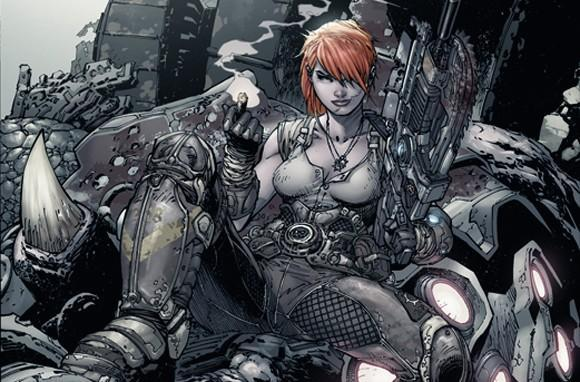 Jim Lee to illustrate Gears of War comic cover