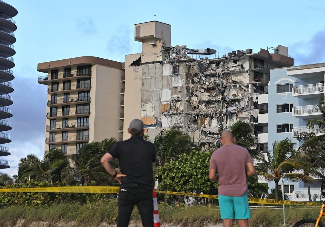 Do buildings show warning signs before collapsing? Expert weighs in after Miami tragedy
