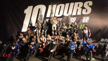 10小時耐久賽實力證明,PGO TIGRA 150拿下桃園極限10耐賽「冠軍」