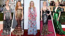 Nicole Kidman turns 50: The actress' most opulent fashion moments