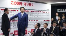Abe Placed to Lead Japan Through 2021 After Big Election Victory