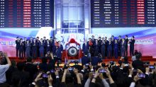 China's new Nasdaq-style stock market soars in trading debut