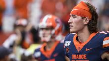 Syracuse QB spikes ball on fourth-and-goal in loss