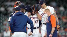Astros slug season-high 5 homers to rout Angels 9-1