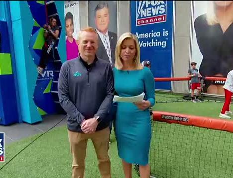 Summer camp comes to 'Fox & Friends' with archery, rock climbing and more