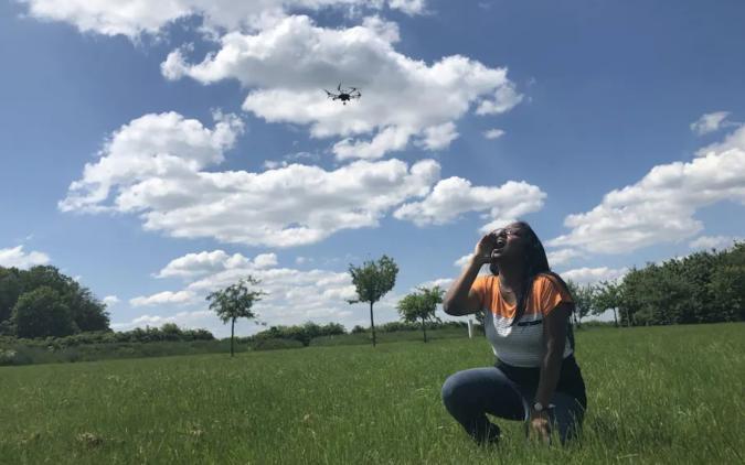 Fraunhofer FKIE Institute Drone