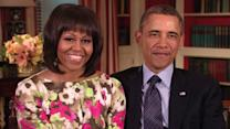 Obamas' Special Message for Robin