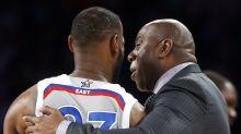 NBA legend Magic Johnson: LeBron James is the favorite to win MVP