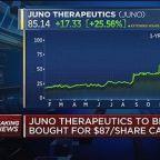 Celgene buying Juno Therapeutics for $9 billion