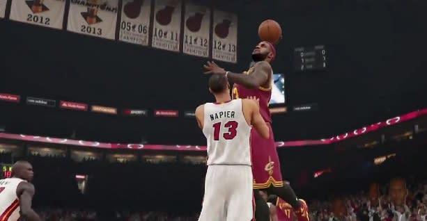 NBA 2K15's 'Yakkem' trailer is red hot