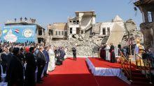 Papst betet im Nordirak für Opfer der Terrormiliz IS
