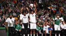 The Celtics beat the Bulls so badly they performed the wave on the bench