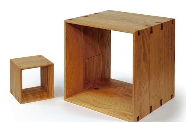 JVC Kenwood's wooden cube speakers offer realtime streaming of nature sounds