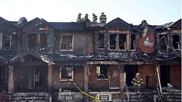 Philadelphia fire leaves 4 children dead