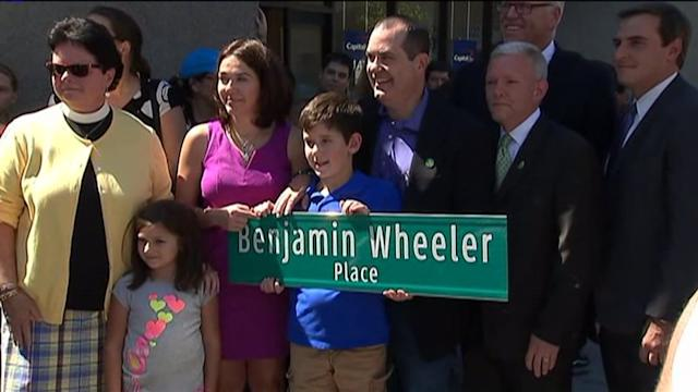 Street Named For Child Killed In Newtown Attack