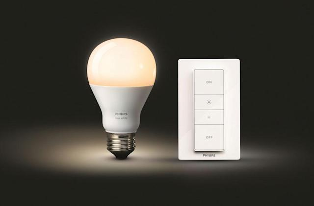 Philips' latest Hue kit gives you wireless light dimming