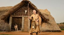 Stone Age house painstakingly recreated by archaeologists using bone tools and ancient materials