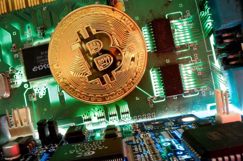 Bitcoin hits fresh high