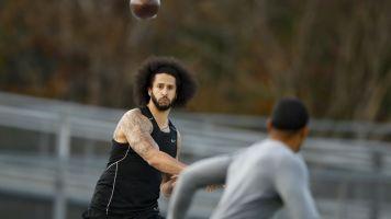 Kap shows he can throw, but will it matter?