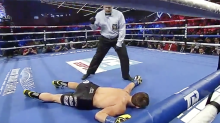 Brutal 40-second 'KO of the year' stuns boxing world