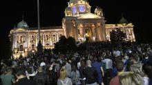 """Declaran toque de queda para Belgrado ante """"situación alarmante"""" por COVID-19"""