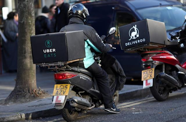 Uber Eats offers insurance for its European couriers
