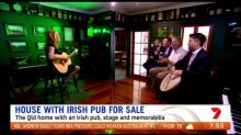 House with an Irish pub up for sale