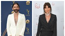 Who wore it better? Jonathan Van Ness and Davina McCall wear same top days apart