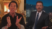 Jimmy Kimmel and Wayne Newton square off to be Las Vegas Raiders' No. 1 fan