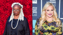 Meghan McCain tells viewers to 'calm down' after on-air clash with Whoopi Goldberg
