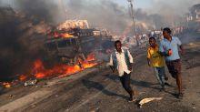 Deadly truck bombing in Mogadishu, Somalia