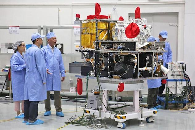 Chinese satellite to test secure quantum communications