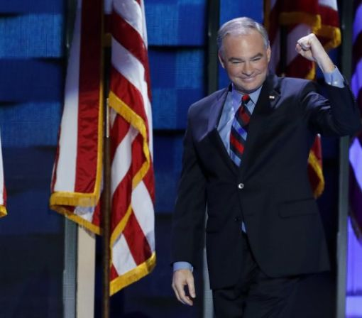 America, Tim Kaine loves your dad jokes