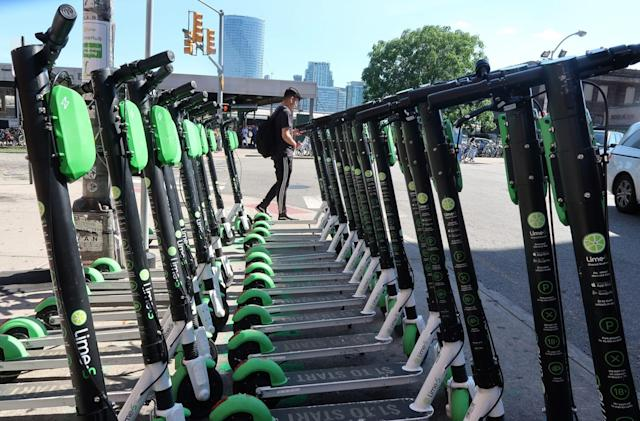 Lime makes group scooter rides available in the US
