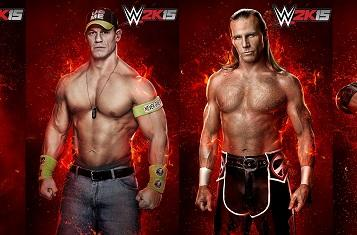 WWE 2K15's historical rivalry mode stars CM Punk, Shawn Michaels