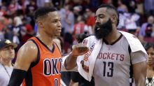 Russell Westbrook, James Harden, and Kawhi Leonard are NBA MVP finalists