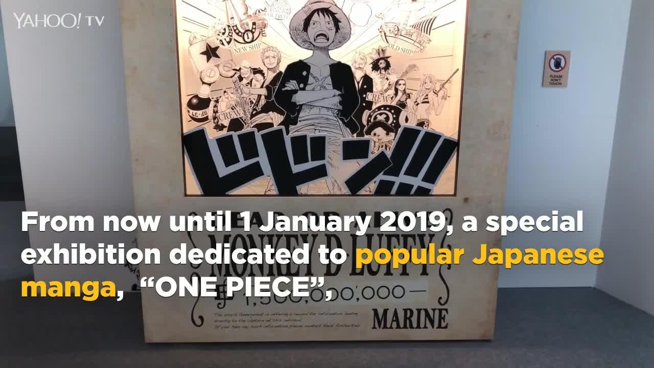 D Exhibition One Piece : One piece special exhibition at rws [video]