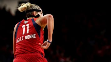 Delle Donne carries Mystics on her aching back