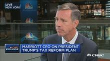 Marriott CEO: We've got to bring corporate tax rates down